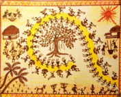 Warli Art by Simi
