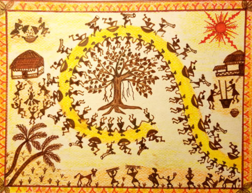 Traditional Art- Warli Painting