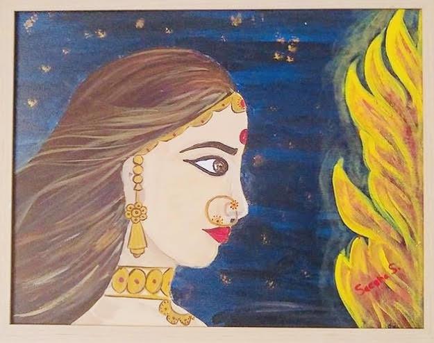 Rani Padmavati Painting