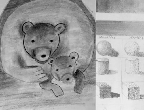 Mumma Bear;Shading Techniques
